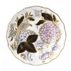"Royal Crown Derby Seasons Accent 8"" Plate - Midwinter Blue"